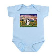 Autumn Angel / Border Collie Infant Bodysuit
