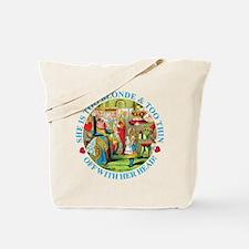 TOO THIN, TOO BLONDE Tote Bag