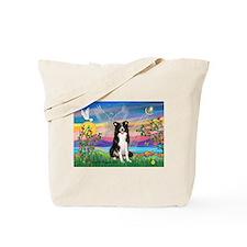 Guardian Angel / Border Collie Tote Bag