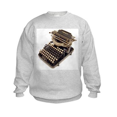 Typewriter Kids Sweatshirt