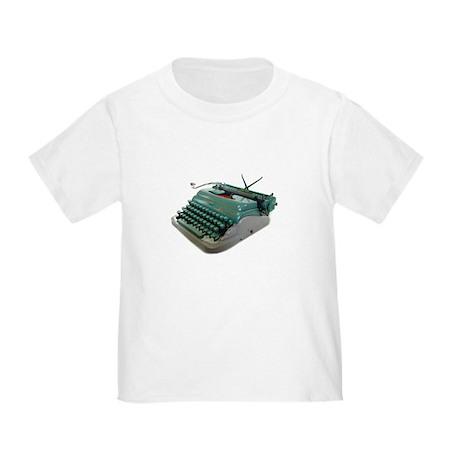 Typewriter Toddler T-Shirt