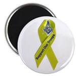 Masonic Support our Troops Fridge Magnet