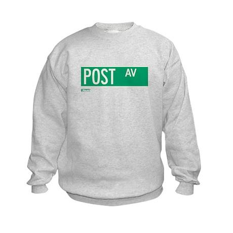 Post Avenue in NY Kids Sweatshirt