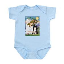 Angel (#2) / Border Collie Infant Bodysuit