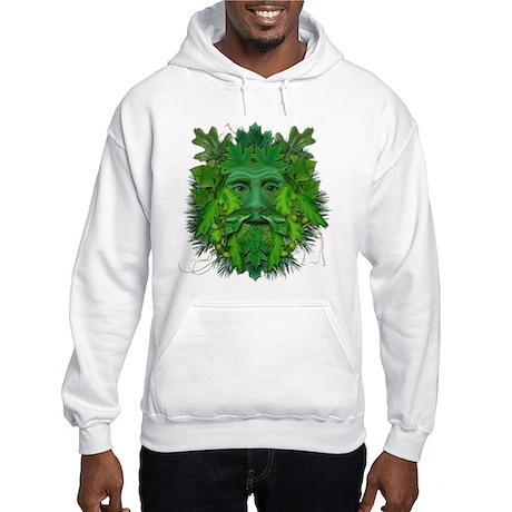 Green Man (Summer) Hooded Sweatshirt