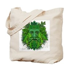Green Man (Summer) Tote Bag