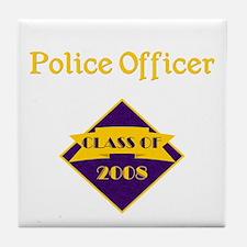 Police Officer Tile Coaster