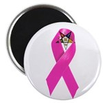 OES Breast Cancer Awareness Fridge Magnet