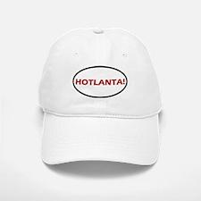 Hotlanta! Oval Baseball Baseball Cap