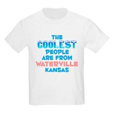 Coolest: Waterville, KS T-Shirt