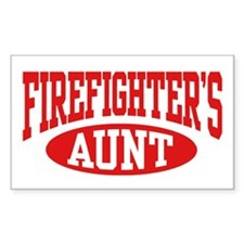 FireFighter's Aunt Rectangle Decal