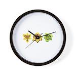 Yellow Daylilies Wall Clock