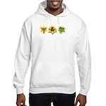 Yellow Daylilies Hooded Sweatshirt