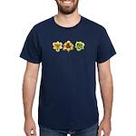 Yellow Daylilies Dark T-Shirt