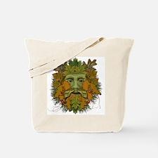 Green Man (Autumn/Fall) Tote Bag