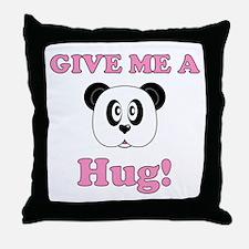 Bear Hug (Panda) Throw Pillow
