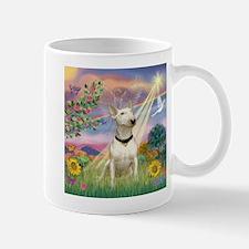 Cloud Angel & Bull Terrier Mug
