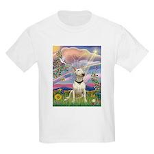 Cloud Angel & Bull Terrier T-Shirt