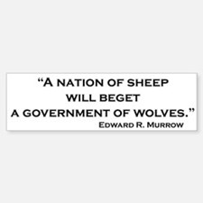 Nation of Sheep Bumper Bumper Bumper Sticker
