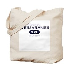 Property of Weimaraner Tote Bag