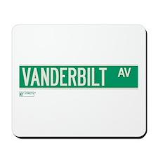 Vanderbilt Avenue in NY Mousepad