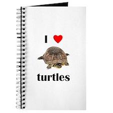I love turtles Journal
