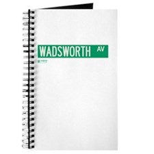 Wadsworth Avenue in NY Journal