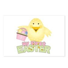 1st Easter Chick Girl Postcards (Package of 8)