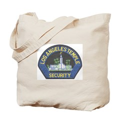 Mormon Temple Security Tote Bag