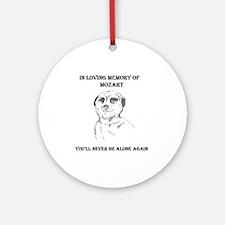 mozart dedication Ornament (Round)