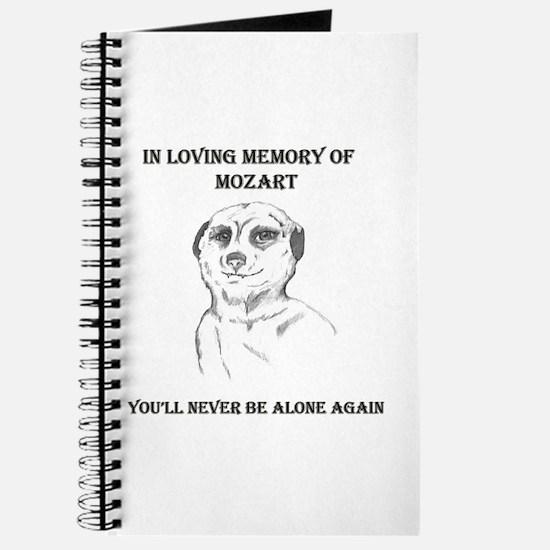 mozart dedication Journal