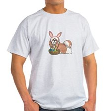 Easter Bunny Shih Tzu T-Shirt