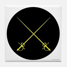 Rapier Marshal Tile Coaster