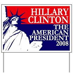 Hillary Clinton: President Yard Sign