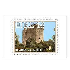Faux Vintage Irish Postage Stamp Postcards (Packag