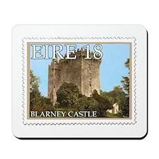 Faux Vintage Irish Postage Stamp Mousepad