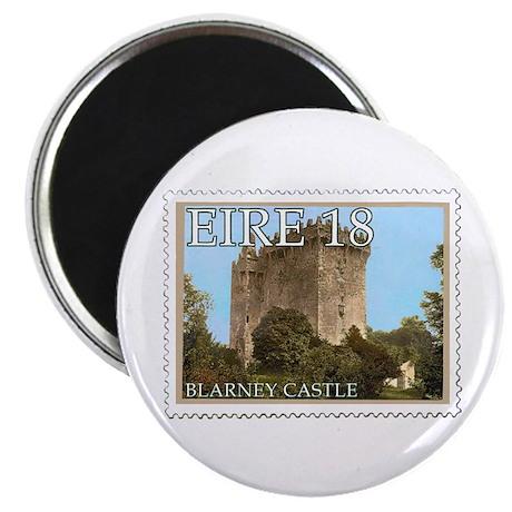 "Faux Vintage Irish Postage Stamp 2.25"" Magnet (10"
