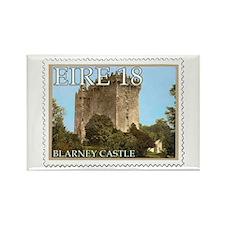Faux Vintage Irish Postage Stamp Rectangle Magnet
