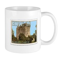 Faux Vintage Irish Postage Stamp Mug