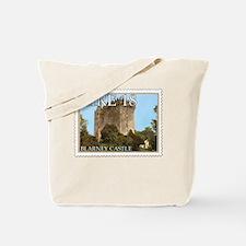 Faux Vintage Irish Postage Stamp Tote Bag