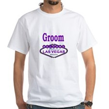 Purple LV Groom Shirt
