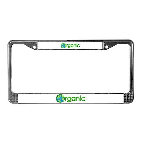 Organic Earth License Plate Frame