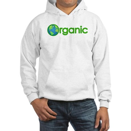 Organic Earth Hooded Sweatshirt