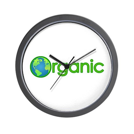 Organic Earth Wall Clock