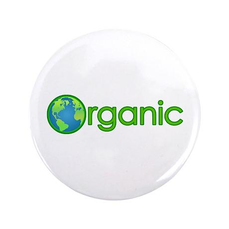 "Organic Earth 3.5"" Button"