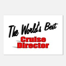 """The World's Best Cruise Director"" Postcards (Pack"