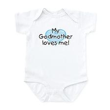 My Godmother loves me (bl) Infant Bodysuit