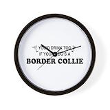 Border collie agility Basic Clocks