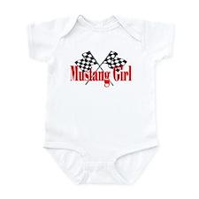 Mustang Girl Infant Bodysuit