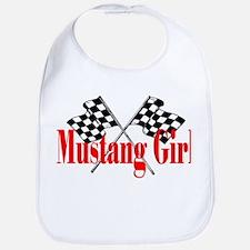 Mustang Girl Bib